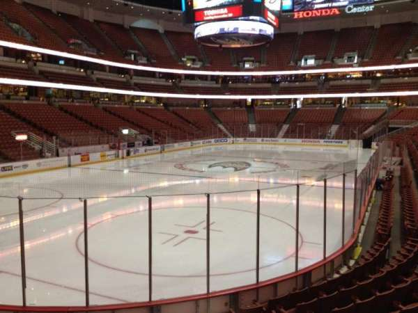 Honda Center, section: 227, row: K, seat: 4