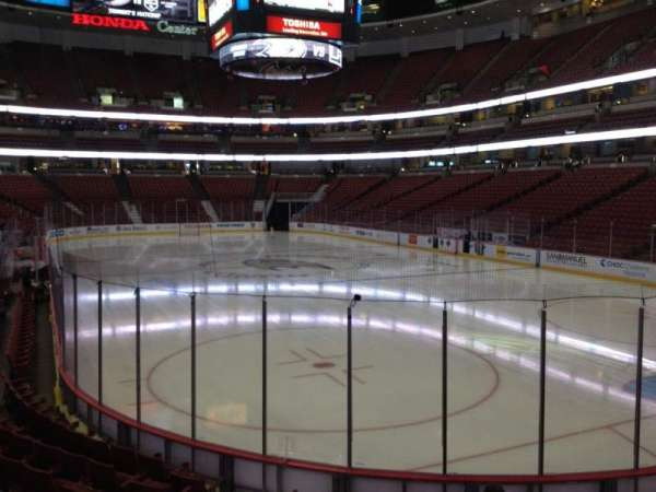 Honda Center, section: 203, row: K, seat: 5