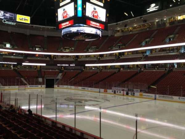 Honda Center, section: 205, row: K, seat: 6