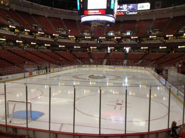 Honda Center, section: 214, row: K, seat: 5