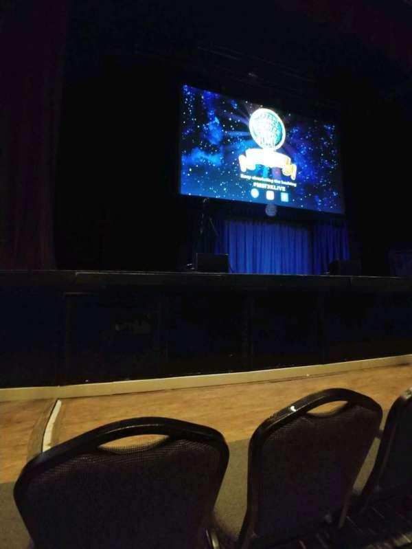 Hard Rock Live Orlando, section: center, row: b, seat: 32