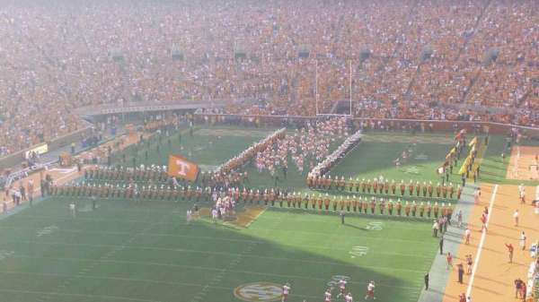 Neyland Stadium, section: JJ, row: 7, seat: 6
