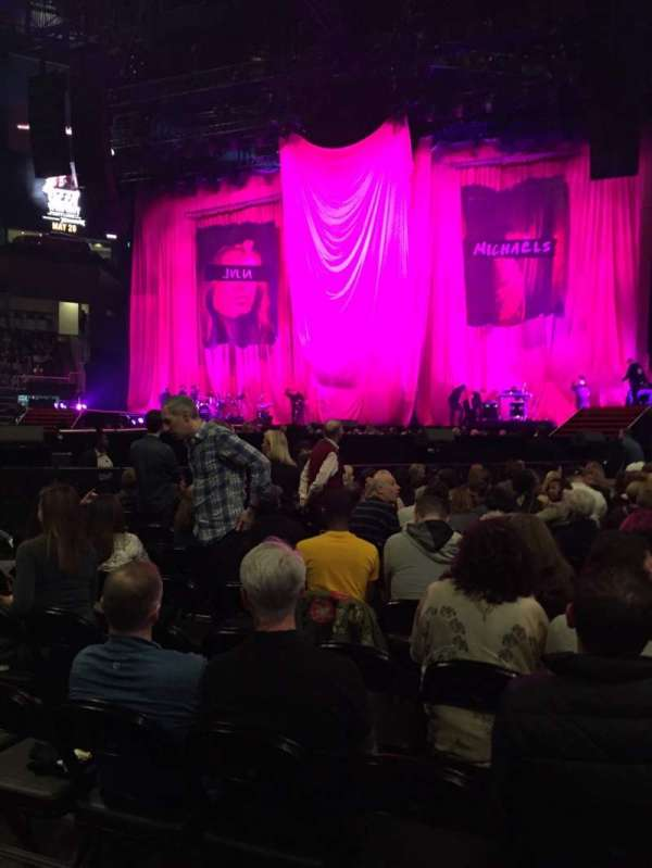 State Farm Arena, section: Floor 1, row: R, seat: 6