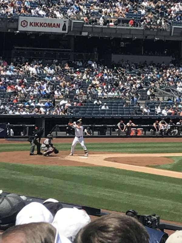 Yankee Stadium, section: 114b, row: 6, seat: 4,5,6