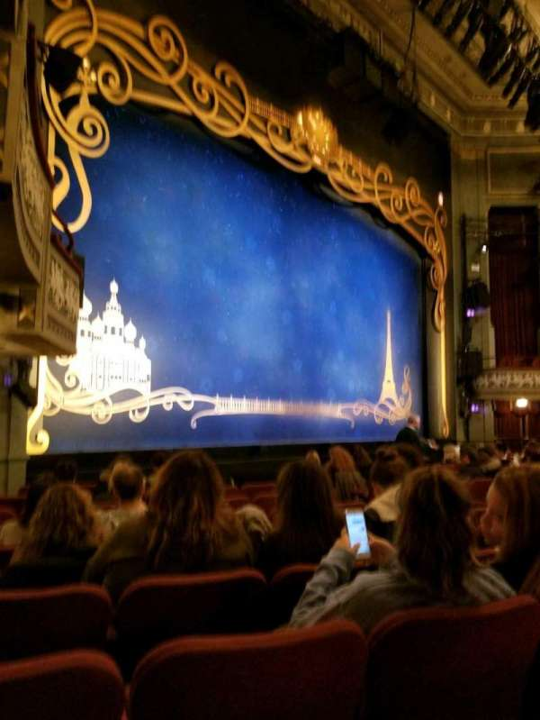 Broadhurst Theatre, section: Orch Left, row: K, seat: 21