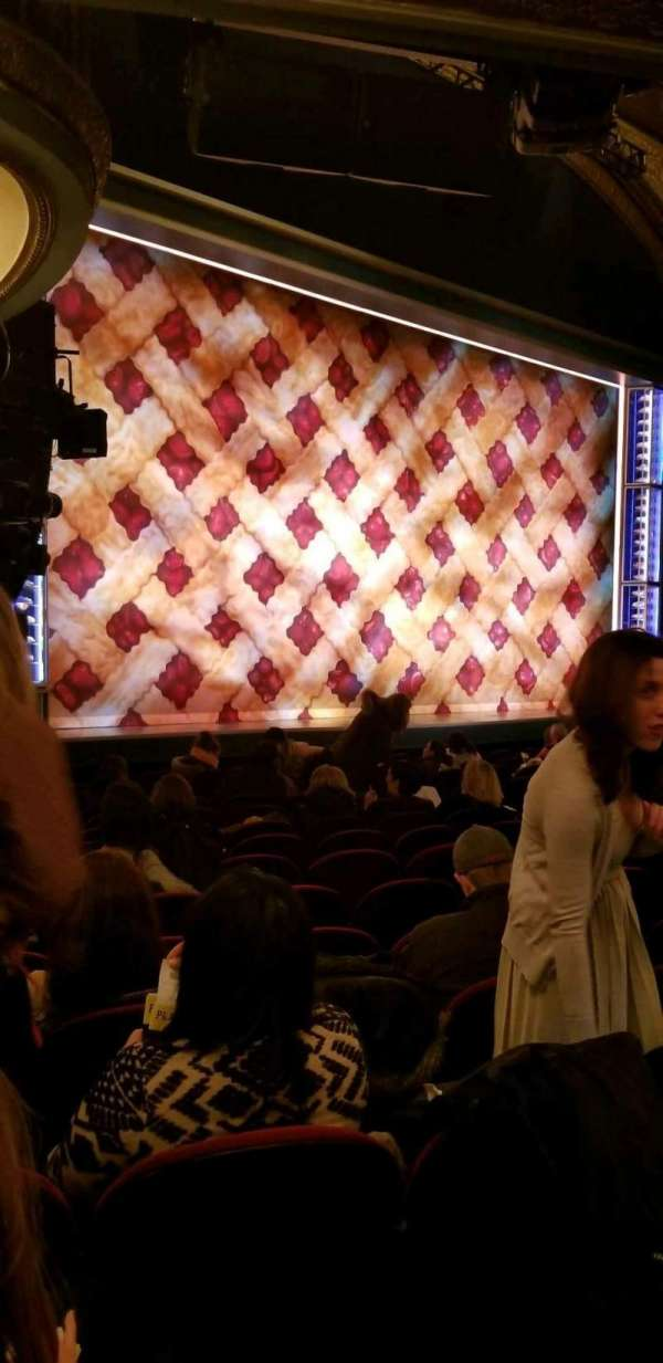 Brooks Atkinson Theatre, section: Orchestra L, row: N, seat: 25