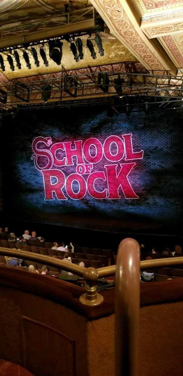 Winter Garden Theatre, section: Mezz Right, row: B, seat: 2