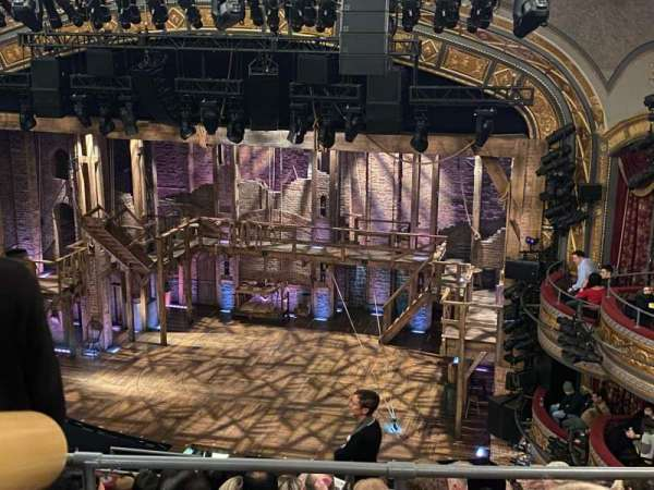 Richard Rodgers Theatre, section: Rear Mezzanine R, row: H, seat: 14