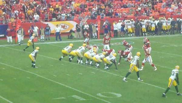 Arrowhead Stadium, section: 122