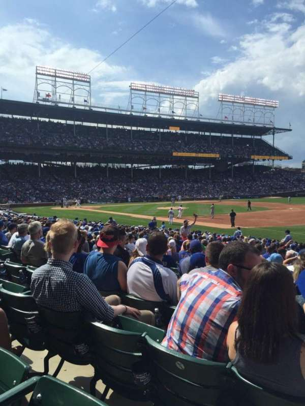 Wrigley Field, section: 128, row: 12, seat: 11
