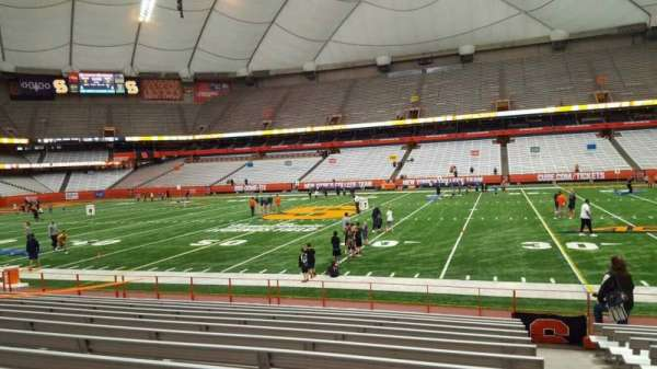 Carrier Dome, section: 130, row: l, seat: 1