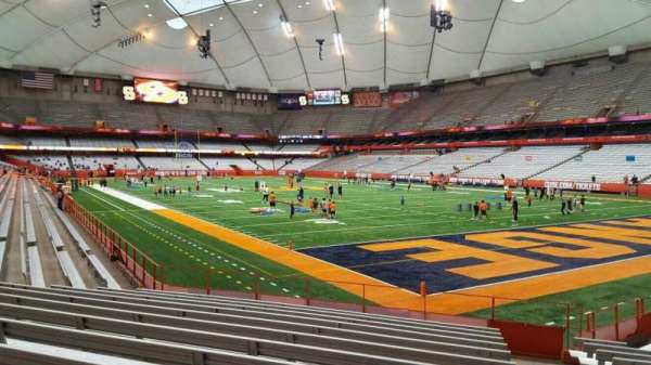 Carrier Dome, section: 126, row: l, seat: 1