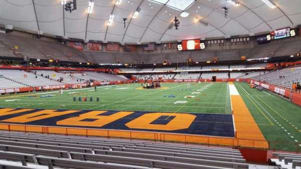 Carrier Dome, section: 122, row: l, seat: 1