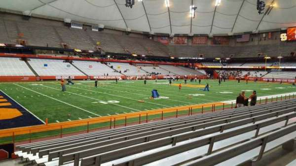 Carrier Dome, section: 119, row: l, seat: 1