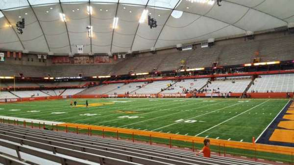 Carrier Dome, section: 113, row: l, seat: 1