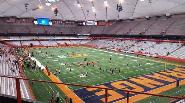 Carrier Dome, section: 331, row: b, seat: 5