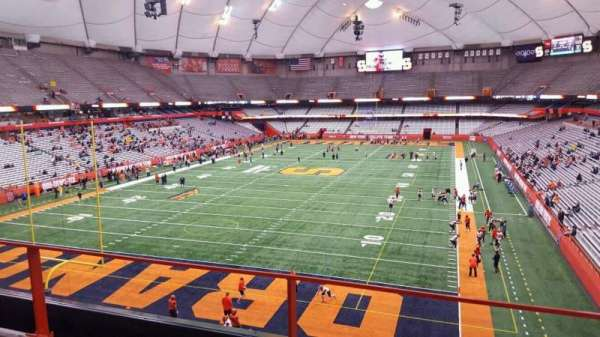 Carrier Dome, section: 326, row: b, seat: 16