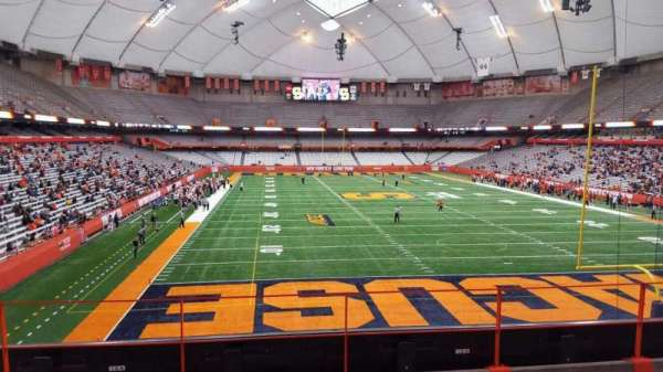 Carrier Dome, section: 213, row: d, seat: 116