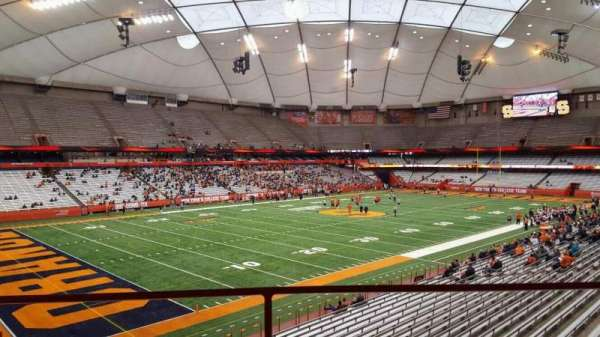Carrier Dome, section: 243, row: g, seat: 12