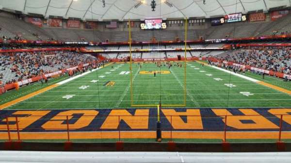 Carrier Dome, section: 248, row: g, seat: 116