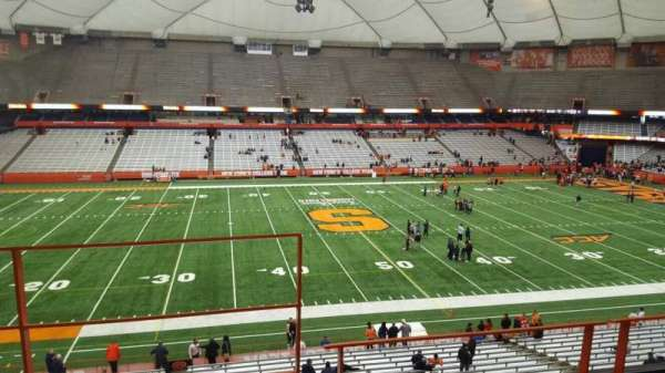 Carrier Dome, section: 320, row: c, seat: 104