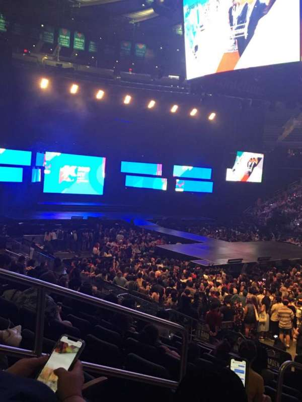 Madison Square Garden, section: 119, row: 13, seat: 3