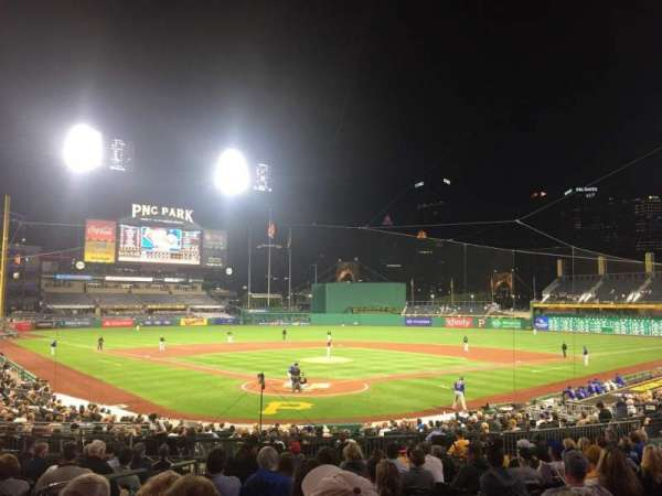 PNC Park, section: 115, row: P, seat: 25