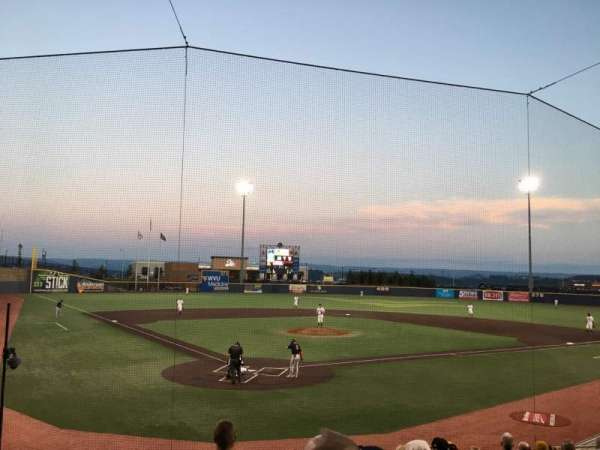 Monongalia County Ballpark, section: 106, row: K, seat: 4