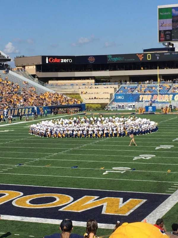 Mountaineer Field, section: 98