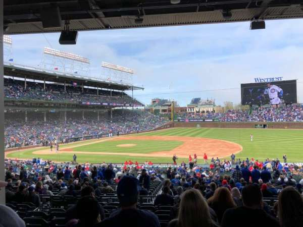 Wrigley Field, section: 226, row: 10, seat: 7