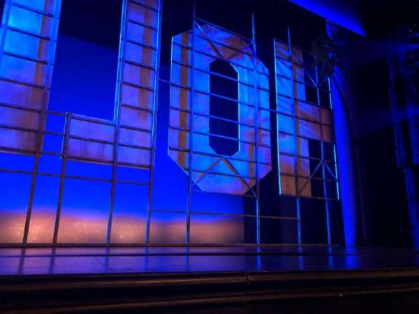 Nederlander Theatre, section: Center Orchestra, row: A, seat: 113