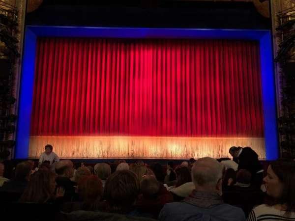 Longacre Theatre, section: Orchestra C, row: L, seat: 108