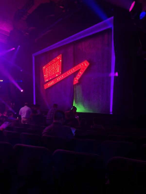 Winter Garden Theatre, section: Orchestra R, row: J, seat: 24
