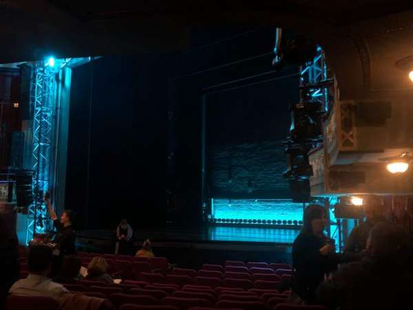 Broadhurst Theatre, section: Orchestra R, row: N, seat: 26