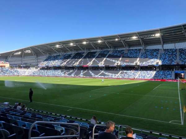 Allianz Field, section: 27, row: 12, seat: 7
