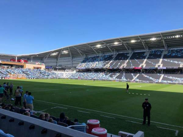 Allianz Field, section: 30, row: 6, seat: 9