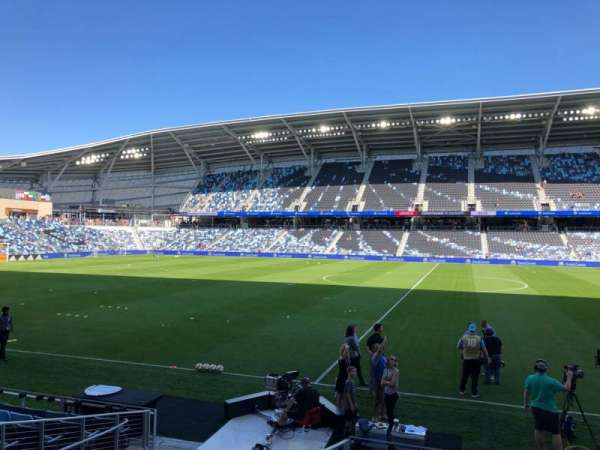 Allianz Field, section: 32, row: 11, seat: 1