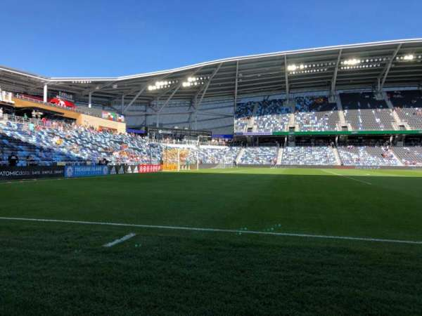 Allianz Field, section: 36, row: 1, seat: 1