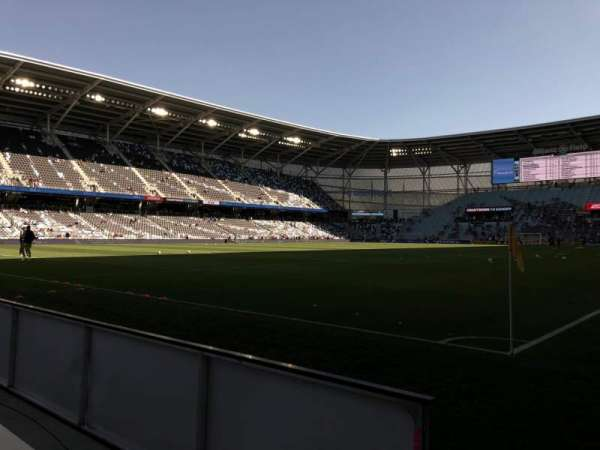 Allianz Field, section: 1, row: 1, seat: 4