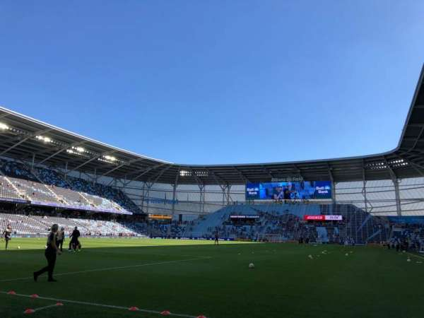 Allianz Field, section: 2, row: 1, seat: 9