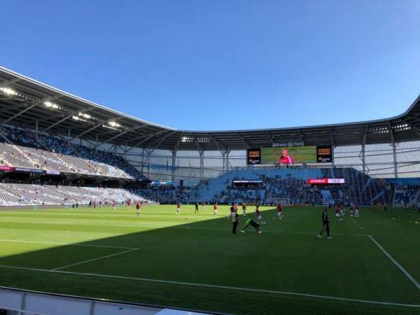 Allianz Field, section: 3, row: 5, seat: 5