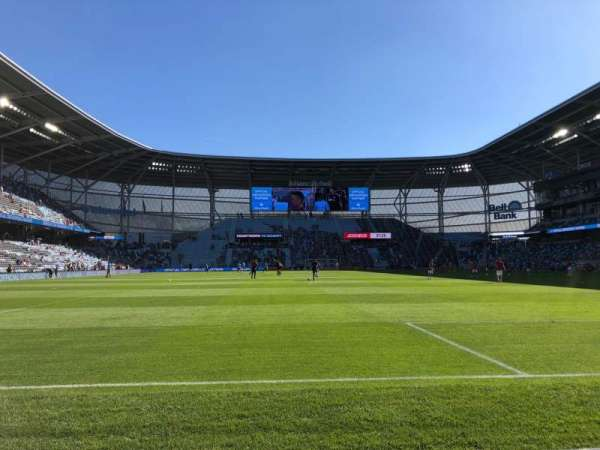 Allianz Field, section: 5, row: 1, seat: 10