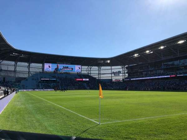 Allianz Field, section: 7, row: 1, seat: 4