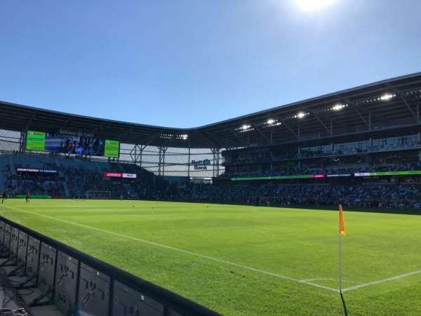 Allianz Field, section: 8, row: 2, seat: 2