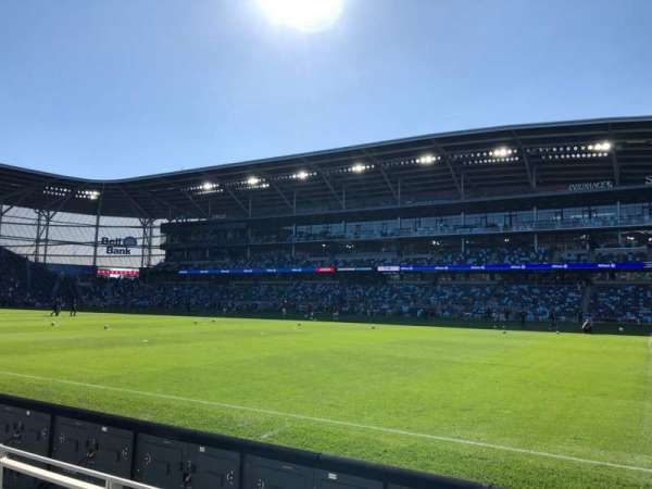 Allianz Field, section: 9, row: 3, seat: 13
