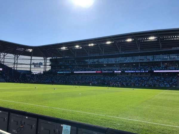 Allianz Field, section: 10, row: 2, seat: 10