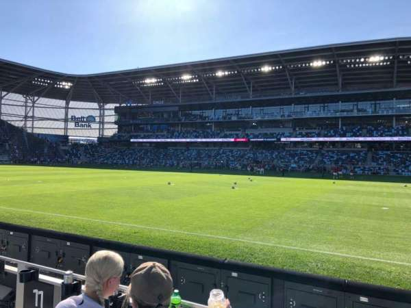 Allianz Field, section: 11, row: 3, seat: 6