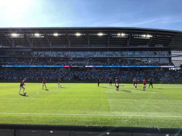 Allianz Field, section: 12, row: 3, seat: 12