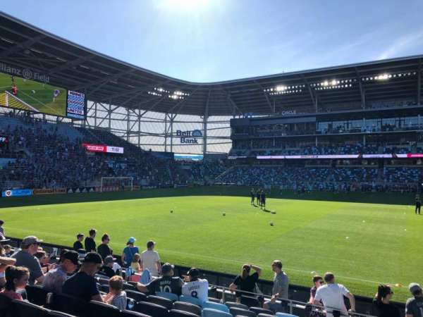 Allianz Field, section: 14, row: 9, seat: 2