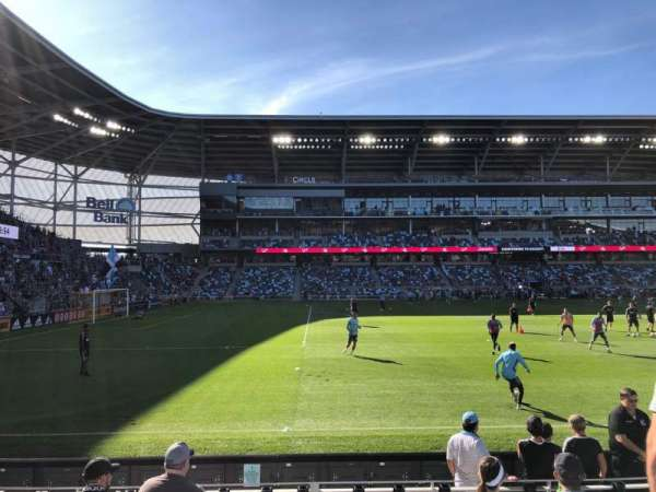 Allianz Field, section: 16, row: 8, seat: 8